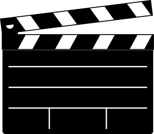 clapboard movie film