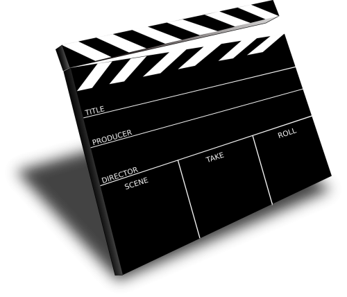 clapboard movie cinema