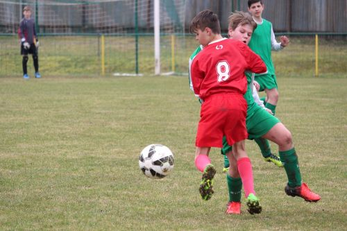 clash of the a duel for the ball football