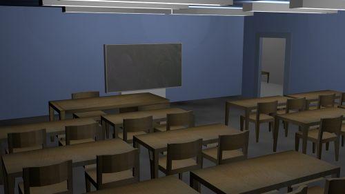 class room school class