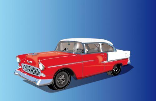 classic car retro