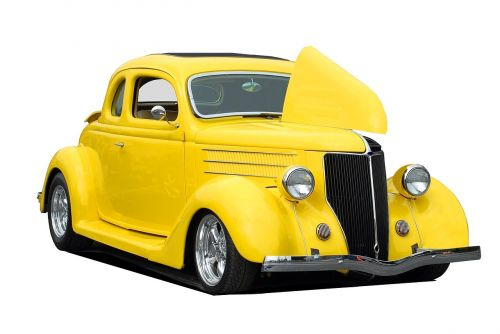 classic hot rod vehicle