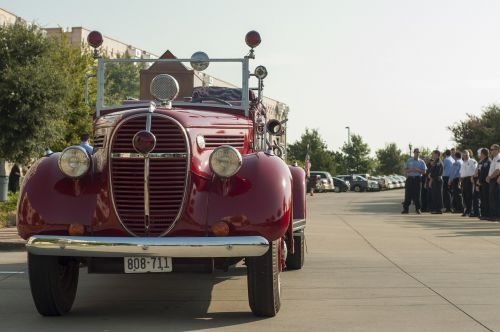 classic fire engine vehicle