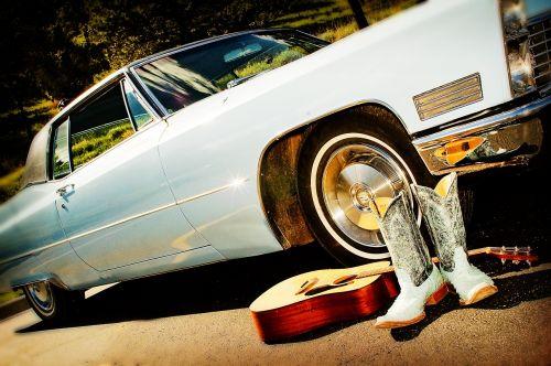 classic car guitar boots