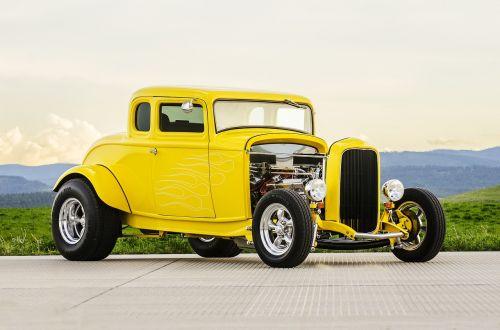 classic car muscle car old car