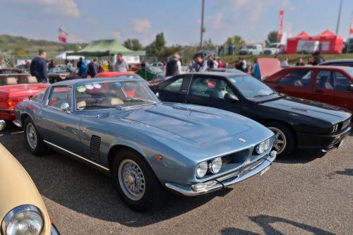 classic car oldtimer blue