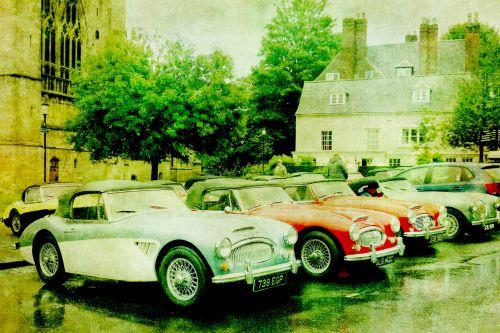 Classic Car Austin Healey