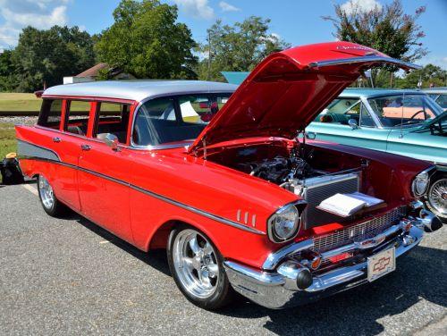 Classic Chevrolet Station Wagon