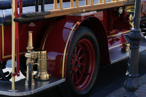 Classic Fire Engine Car