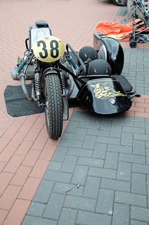 motociklas, motociklas, tradicija, istorija, Sportas, variklio & nbsp, sporto, klasikinis, klasikinis, šoninė priekaba, klasikinis motociklas