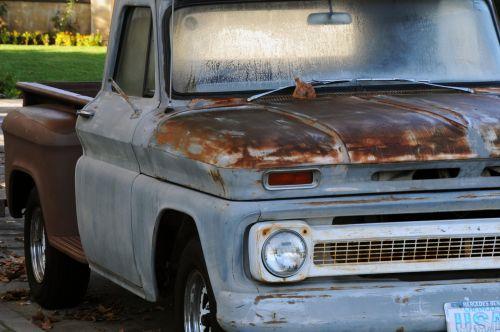 Classic Rusty Pickup Truck