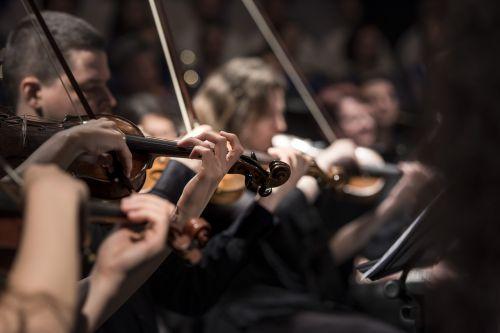 classical music concert macro