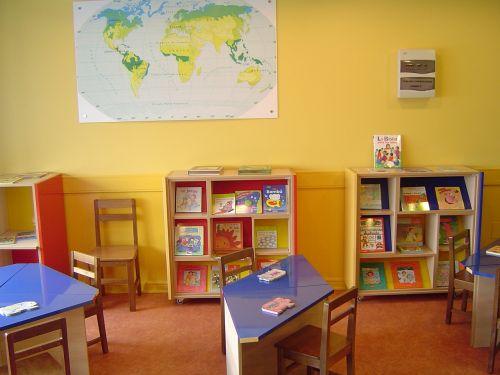 classroom room school