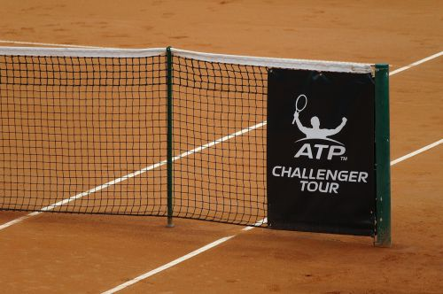 clay court tennis court net