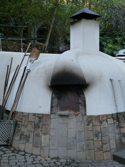 clay oven wood burning stove oven