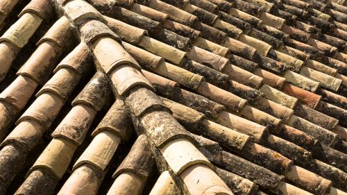 clay roof slate roof tile roof