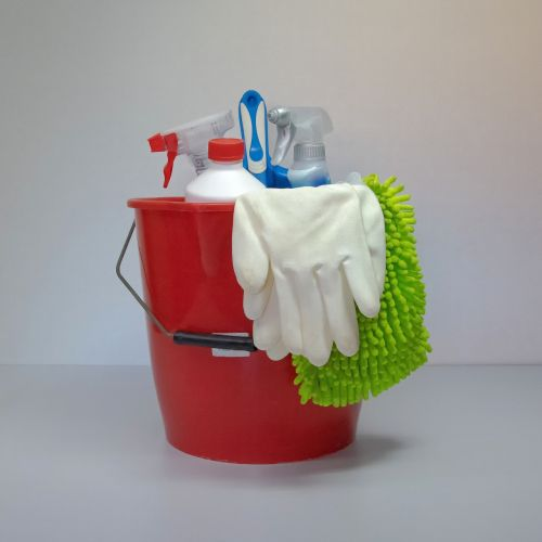 clean putz bucket frühjahrsputz
