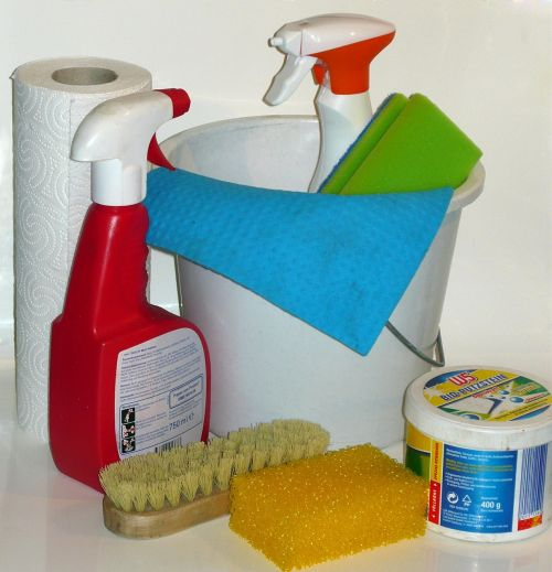 clean make clean cleaning material
