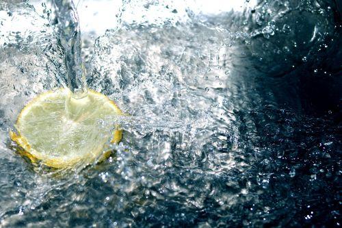 clear yellow lemon