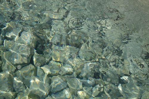 clear water fresh