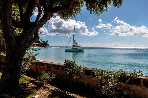 clearwater villa ocean view barbados sailboat