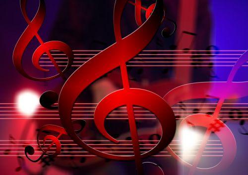 clef music guitar