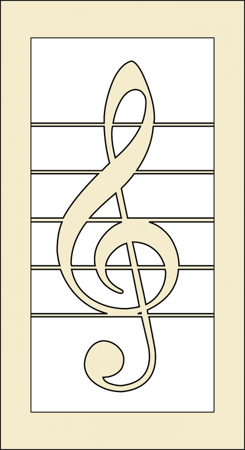 clef melody music