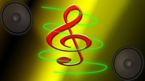 clef speakers music