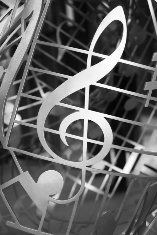 clef music melody