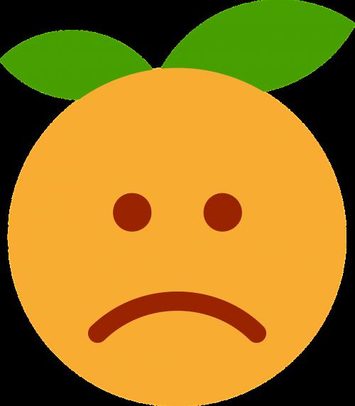 clementine orange cartoon