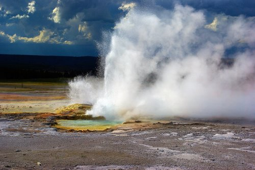 clepsydra geyser  lower  geyser