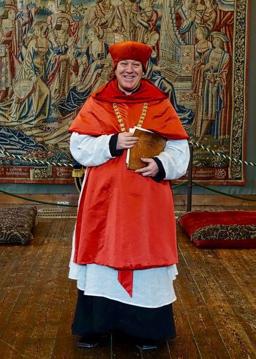 clergyman bishop cardinal