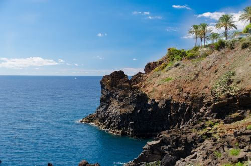 cliff sea atlantic
