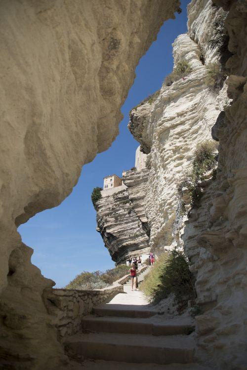 cliff bonifacio corsican