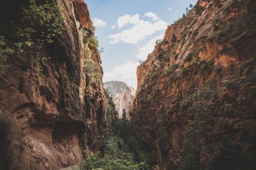 cliff landscape mountain