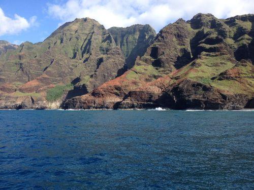cliff ocean water