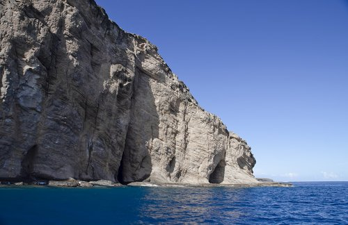 cliff  mountain  sea