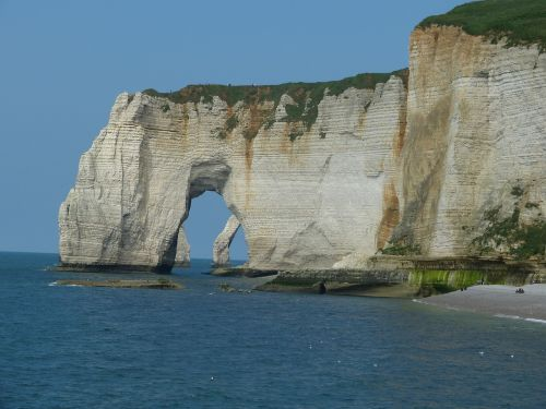 cliff normandy le tilleul