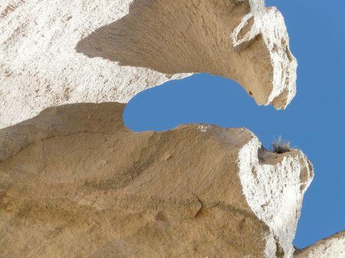 cliff tufa rock