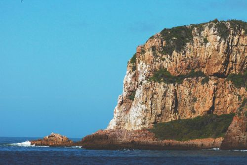 cliff rock shore