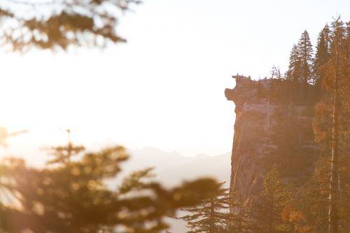 cliff vertical rock