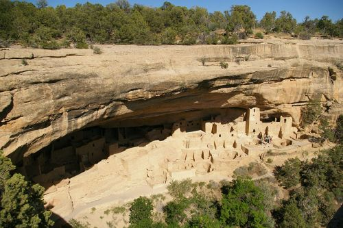cliff palace mesa verde cliff dwellings
