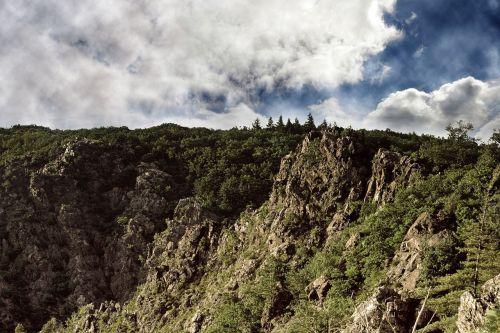 cliffs rock mountainside