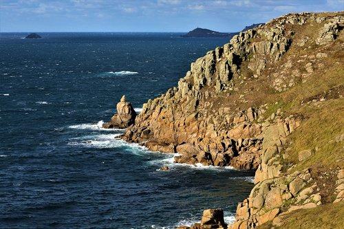 cliffs  sea  coast
