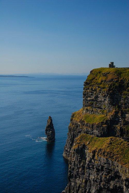 cliffs  ireland  sea