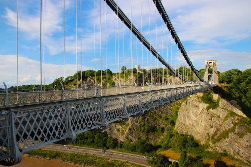 clifton suspension bridge bridge span