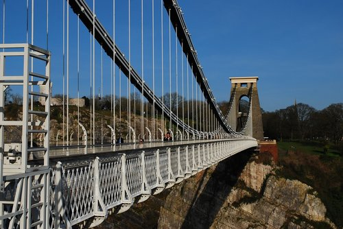 clifton suspension bridge  bristol  england