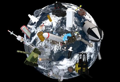 climate change earth globe