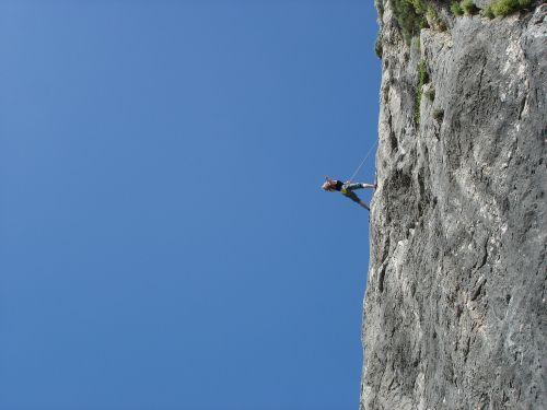 climb rock climber