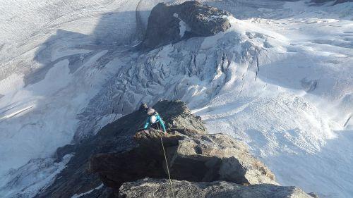 climb alpine climbing climber